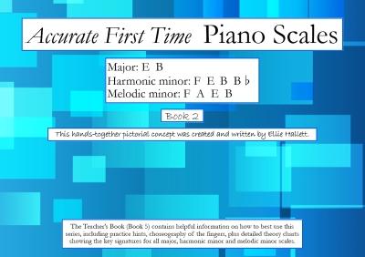 Major: E B Harmonic minor: F E B Bflat Melodic minor: F A E B